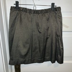 Gold Madewell skirt (with pockets!)